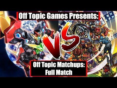 [Cardfight!! Vanguard] OTM: D-Robos vs Hellhard Turbo (Full Match)