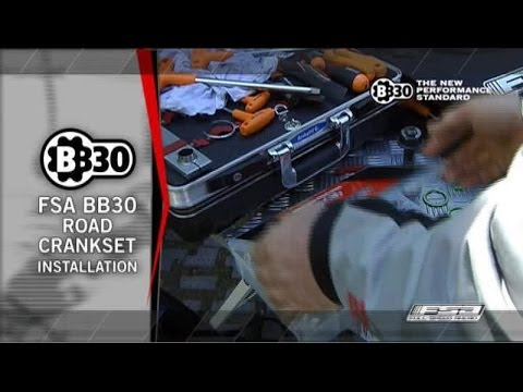 How To Install And Maintain A BB30 Bottom Bracket On A Road Bike - FSA Road