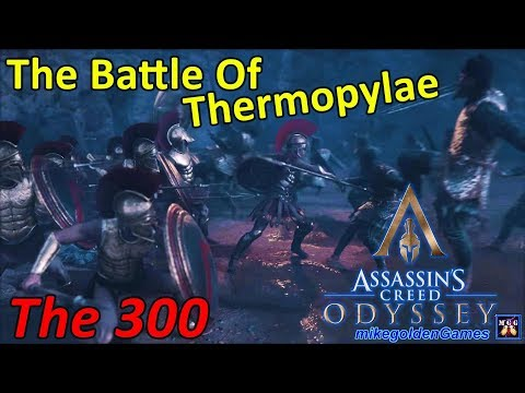 The Battle of Thermopylae | Assassins Creed Odyssey Episode 1