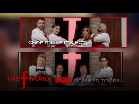 Chop It Like It's Hot Vs. Licensed To Grill   Season 1 Ep. 8   THE F WORD