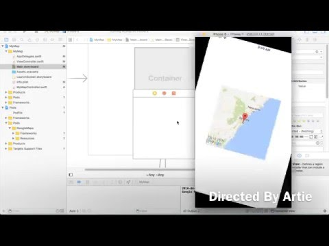 Google Maps Enabled iOS App Development: Part 2 - Adjusting the Size of Google Maps View
