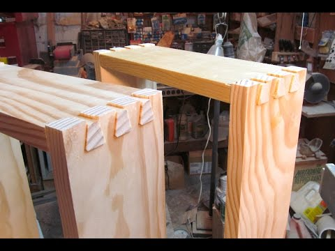 Dovetail drawers with the router