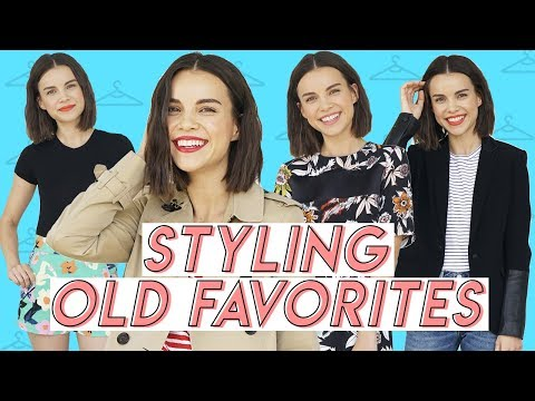 How I Keep Old Clothes New! Re-Styling My Fashion Faves | Ingrid Nilsen