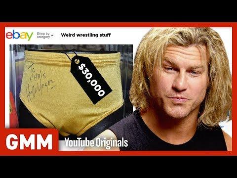 Weirdest WWE Items On eBay Ft. Dolph Ziggler (GAME)