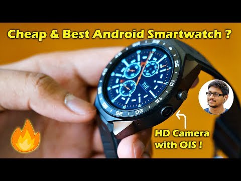 Cheap & Best Android Smartwatch with HD Camera...