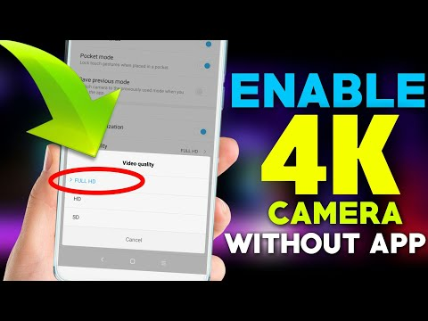 Enable Original 4K Recording in Redmi Note 5 Pro || Without Any Apps