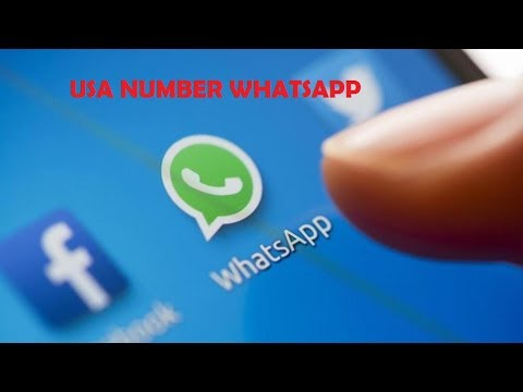 how to use whatsapp usa number 2017 methord