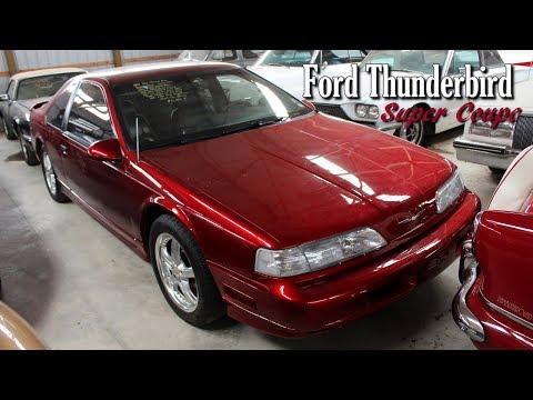 1990 Ford Thunderbird SC 3.8 Supercharged V6