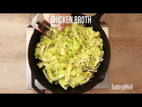 How to Make Skillet Cabbage with Bacon & Mushrooms | EatingWell