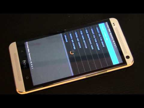 How to do a Nandroid Backup and Restore in CWM Recovery