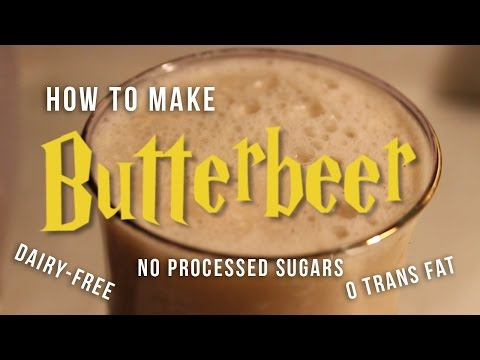 How to Make Dairy-free Butterbeer (Harry Potter)
