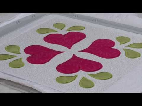 Learn to Applique Using an Embroidery Machine