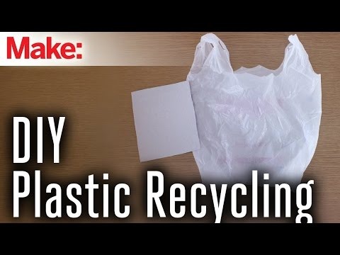 Recycle Plastic Bags Into Plastic Sheets