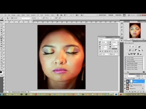 Photoshop Oily Face Tutorial : Photoshop Tutorials