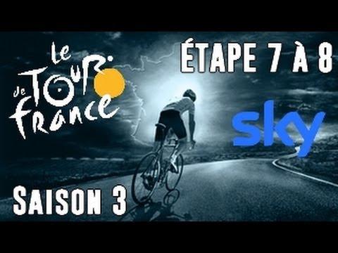 Tour de France 2013 Sky | Etape 7 à 8 : Allons à Ax 3 Domaines ! [HD] [Fr]