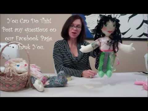 How 2 Make A Whimsical Rag Doll