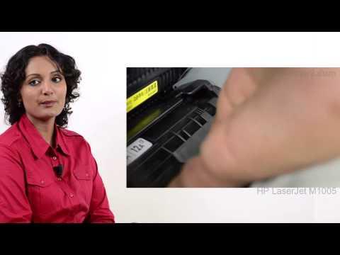 HP Laserjet M1005 - Installing or Replacing Ink cartridges - Preview