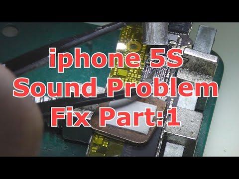 iphone 5s sound problem repair part:1
