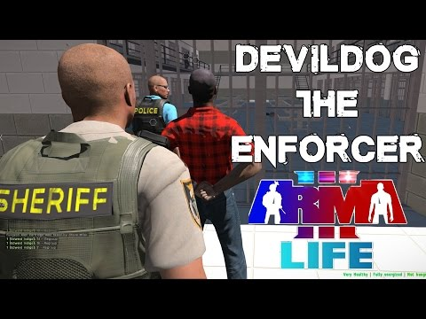 Arma 3 Life - DevildogGamer Prison Enforcer - Police Vintage Diaries