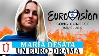 María echa por tierra su candidatura en Eurovisión: un tema comercial que nada tiene que ver conmigo