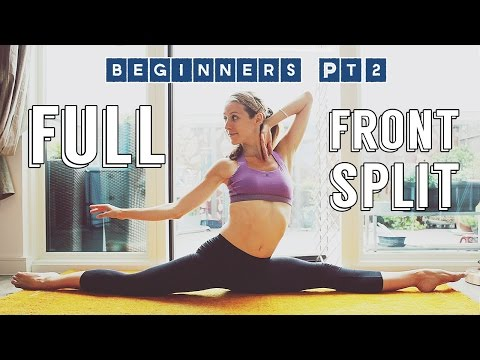 How To Do The Split THE RIGHT WAY - Beginner Pt 2 | Lazy Dancer Tips
