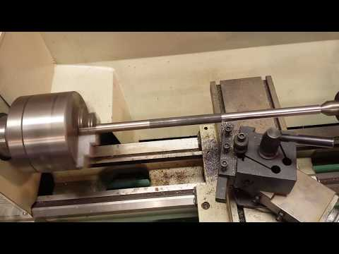 Cutting Bar Stock on the Grizzly G4000 Lathe