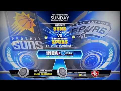 NBA2K14 Gameplay (Creating A Team)