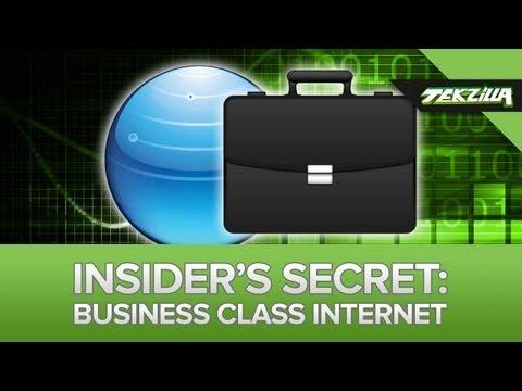 Want Better Internet? Get Business Class Internet!