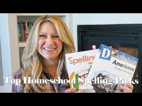 Our Top Homeschool Spelling Curriculum Picks