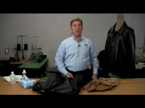 How to Clean Fine Leather : Leather & Fabric Care