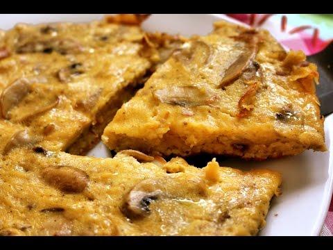 Frittata | How to make Mushroom Omelette | No oven easy Mushroom Omelet