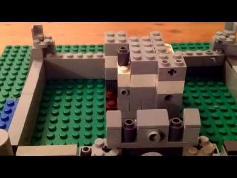 How to build a micro scale Lego Castle