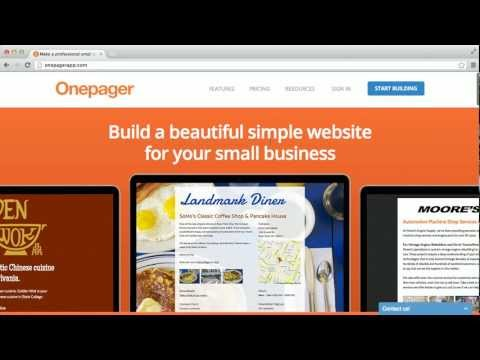 Onepager - Private Label Website Builder for Agencies and Freelancers