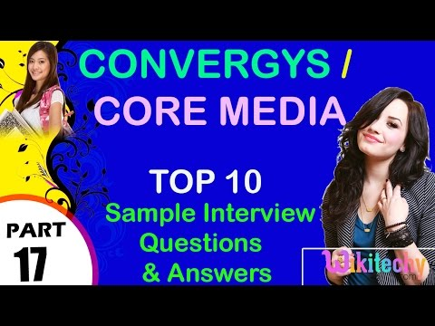 Convergys | core media most important interview questions and answers for freshers