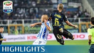 Pescara - Inter - 1-2 - Highlights - Giornata 3 - Serie A TIM 2016/17