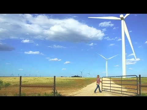 A Texas oil town learns to love wind