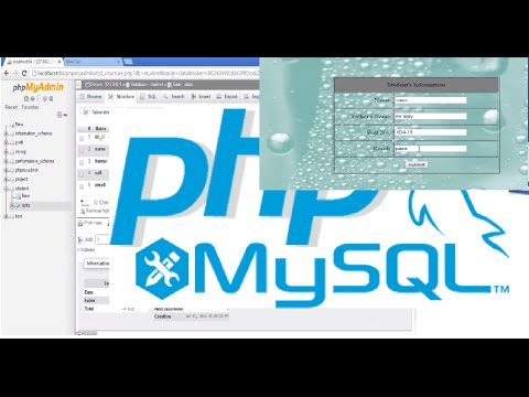 How to Insert Data Into Database from a Form | PHP - MySql Tutorial for Beginners