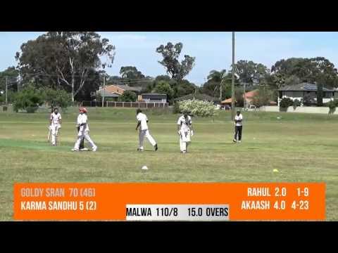 Malwa Cricket Club V/S Sydney Kesri Cricket Club