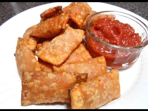 How to make Pizza Rolls - Totino's Pizza Rolls Clone!