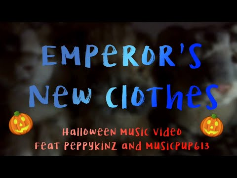 Emperors new clothes webkinz Halloween video collaboration