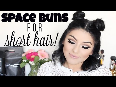PYT GIVEAWAY! (CLOSED)  Space Buns For Short Hair