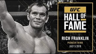 Rich Franklin Joins the UFC Hall of Fame