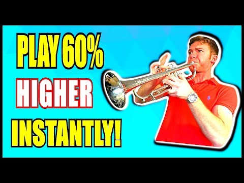 HOW TO PLAY 60% HIGHER ON THE TRUMPET (**INSTANTLY!**)