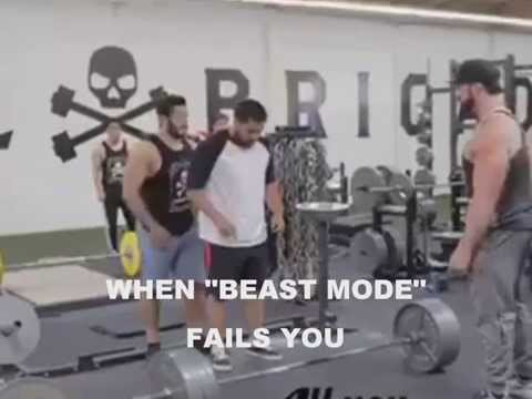 Beast Mode Backfires