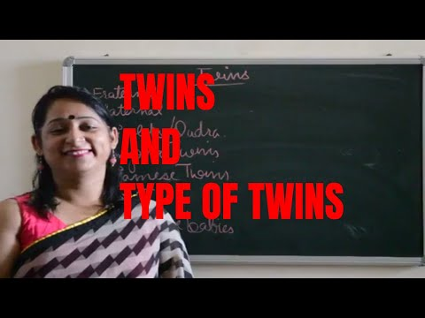 TYPES OF TWINS(How twins are formed)