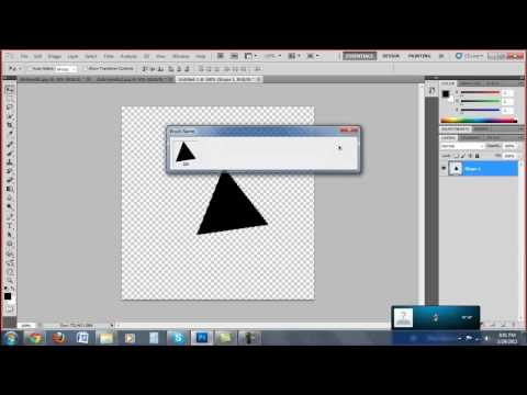 How to make custom brush presets in Photoshop CS5 | CodCraVe