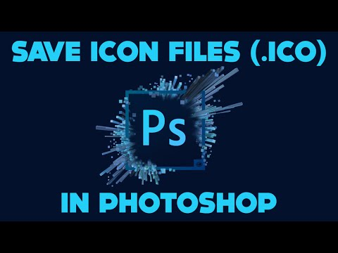 How to Save Icons Photoshop