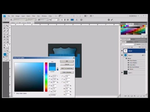 How To Make A GB Signature In Photoshop CS4/CS5 HD