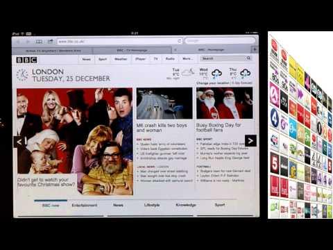 Watch UK TV on iPad while travelling outside the UK