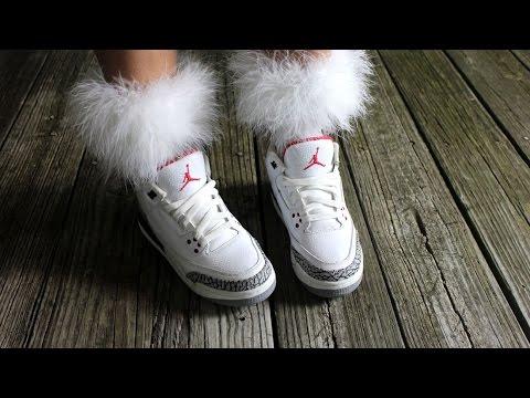 Style Files : Fur Cuffs ! Rihanna x Stance Socks Inspired ! (DIY?)